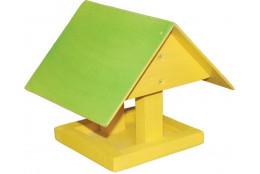 Кормушка для птиц цветная Избушка - интернет-магазин Крассула