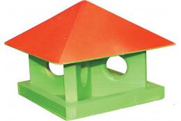 Кормушка для птиц цветная Шатёр - интернет-магазин Крассула