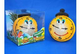 Травянчик смайлик часы - интернет-магазин Крассула