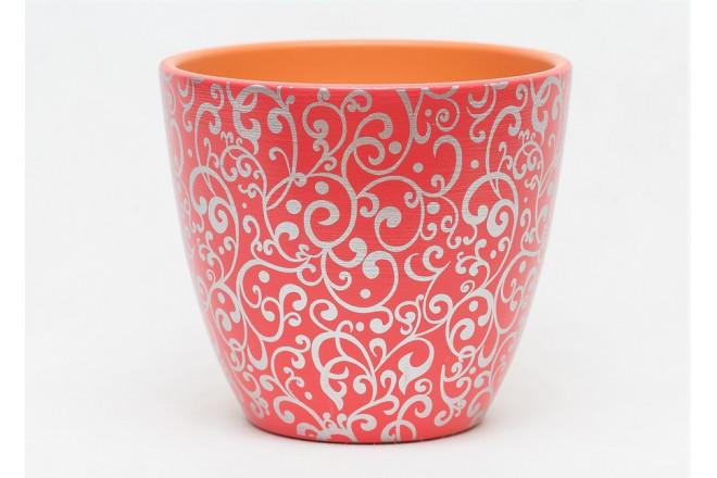 Горшок Скань красный крокус - интернет-магазин Крассула