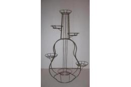 Подставка Напольная Гитара на 6 горшков  - интернет-магазин Крассула