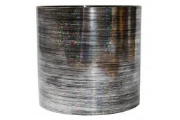 Горшок  со скрытым поддоном Серебро