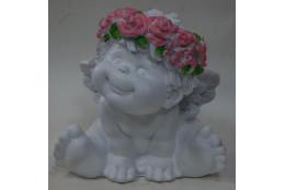 Фигура Ангел сидящий - интернет-магазин Крассула