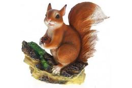 Фигура Белка на ветке с орешком - интернет-магазин Крассула