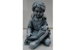 Фигура Девочка с книгой (под камень) - интернет-магазин Крассула