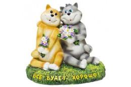 Фигура Кошки влюблённые Всё будет хорошо - интернет-магазин Крассула