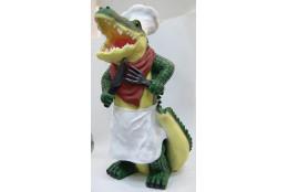 Фигура Крокодил -повар   - интернет-магазин Крассула
