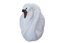 Фигура Лебедь большой (белый) - интернет-магазин Крассула