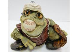 Фигура Лягушка *Бейсболист* - интернет-магазин Крассула