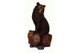 Фигура Медведь на боченке меда (большой) - интернет-магазин Крассула