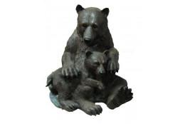Фигура Медведица с медвежонком - интернет-магазин Крассула