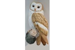 Фигура Навес: сова белогрудая - интернет-магазин Крассула
