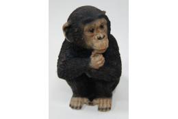 Фигура Обезьяна задумчивая сидящая  - интернет-магазин Крассула