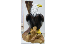 Фигура Орёл на коряге   - интернет-магазин Крассула
