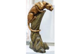 Фигура Пантера на камне - интернет-магазин Крассула