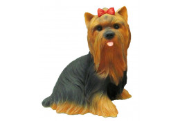 Фигура Собака Йорк большой - интернет-магазин Крассула