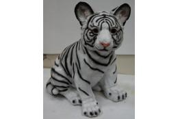 Фигура Тигрёнок белый - интернет-магазин Крассула