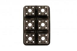 Рассадная кассета 6 ячеек. 0.3л   - интернет-магазин Крассула