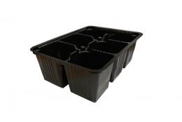Рассадная кассета 6 ячеек 0.155л   - интернет-магазин Крассула