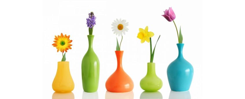 Керамические и шамотные вазы - интернет-магазин Крассула