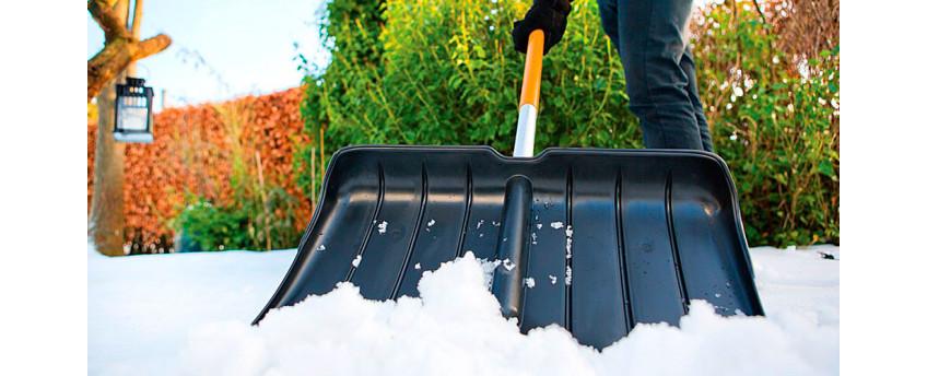 Снеговые лопаты, скребки и движки - интернет-магазин Крассула