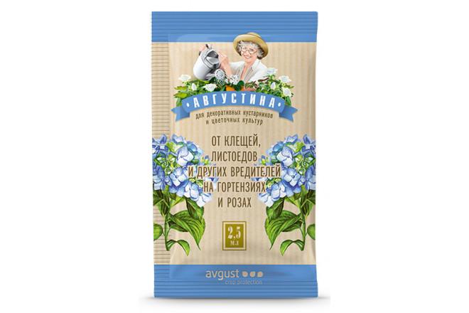 Августина от клещей, листоедов и других вредителей на готензиях и розах - интернет-магазин Крассула