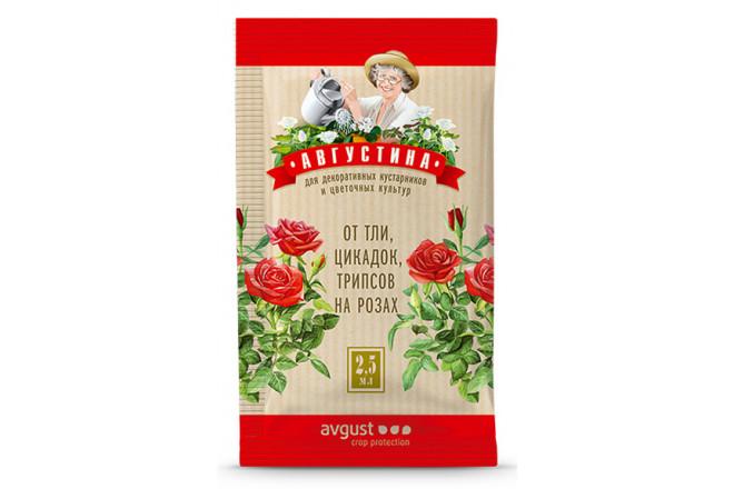 Августина от тли, цикадок и трипсов на розах - интернет-магазин Крассула