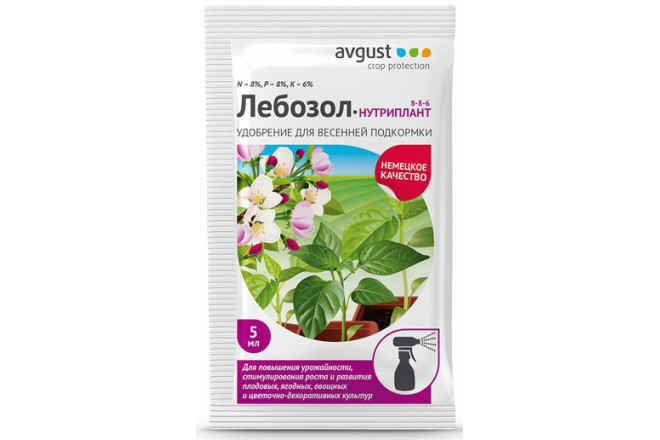 Лебозол-Нутриплант 8-8-6 - интернет-магазин Крассула