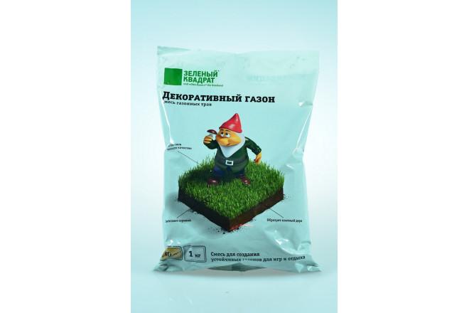 Газон Зеленый квадрат декоративный  - интернет-магазин Крассула