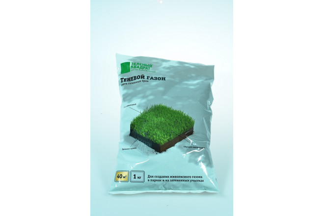 Газон Зеленый квадрат теневой - интернет-магазин Крассула