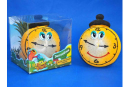 Травянчик смайлик часы