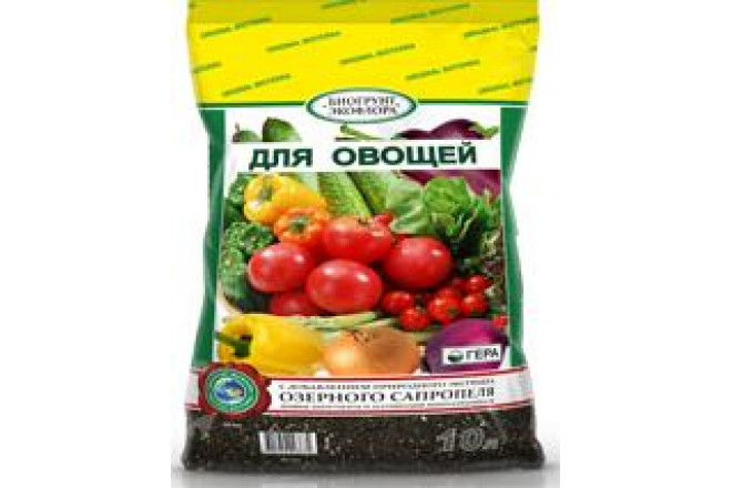 """БиоГрунт """"Для овощей"""" 10л - интернет-магазин Крассула"""