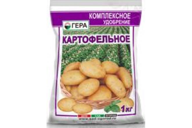 ГЕРА Картофельное 1кг - интернет-магазин Крассула