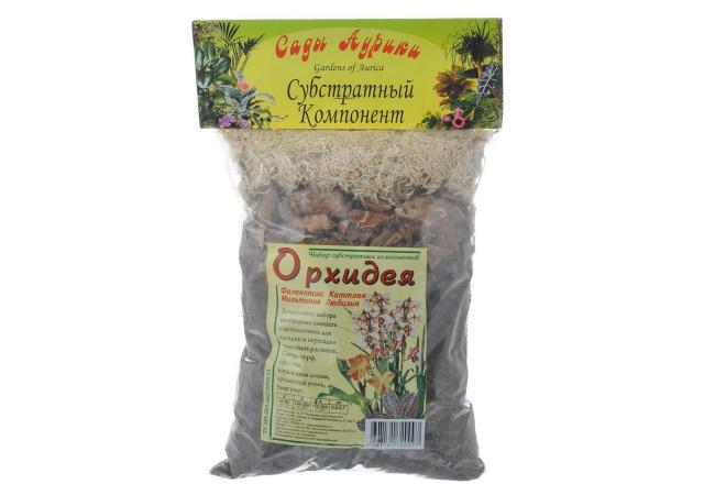 Орхидея субстрат 1 л  - интернет-магазин Крассула