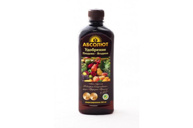 Удобрение Абсолют Плодово-Ягодное 0,25 - интернет-магазин Крассула