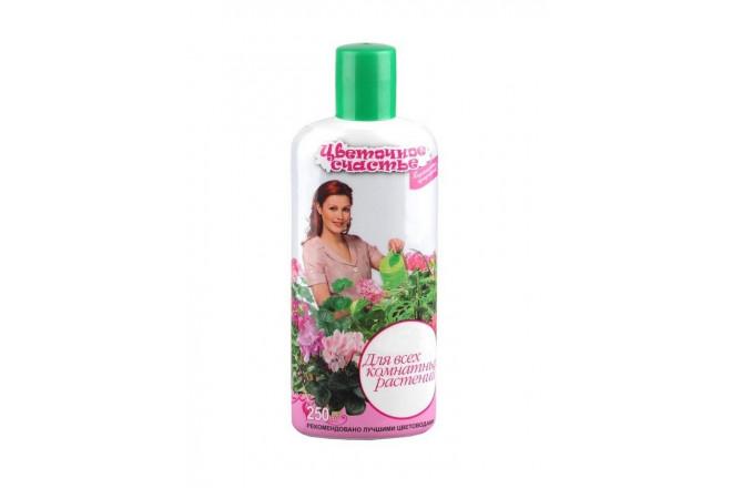 ЖКУ Цветочное счастье для всех ком.растений 250мл - интернет-магазин Крассула