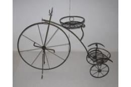 Подставка Напольная на 2 горшка Велосипед