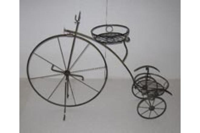 Подставка Напольная на 2 горшка Велосипед  - интернет-магазин Крассула