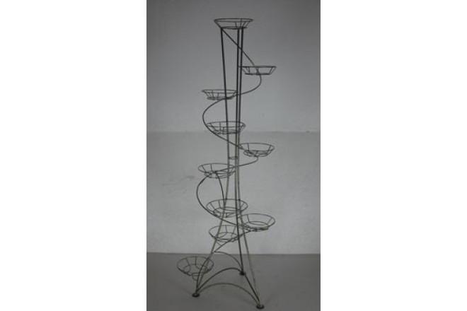 Подставка Напольная Спираль на 10 горшков  - интернет-магазин Крассула