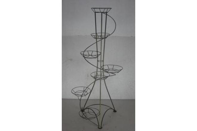 Подставка Напольная Спираль на 7 горшков  - интернет-магазин Крассула