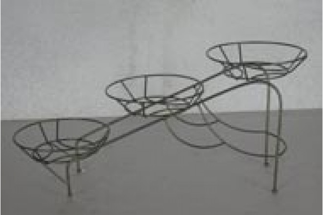 Подставка Настольная на 3 горшка Горка  - интернет-магазин Крассула