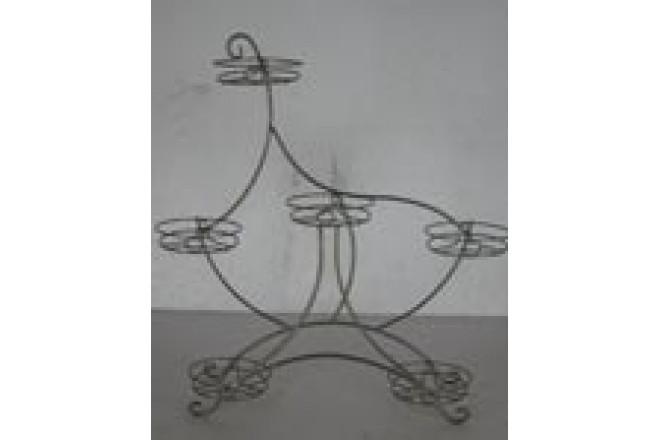 Подставка Настольная на 6 горшков Лебедь  - интернет-магазин Крассула