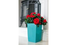 Кашпо для цветов со вставкой Жасмин