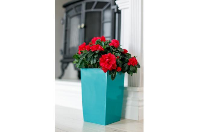 Кашпо для цветов со вставкой Жасмин - интернет-магазин Крассула