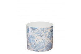 Горшок  со скрытым поддоном Листочки-цветочки - интернет-магазин Крассула