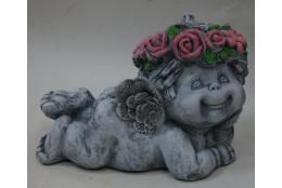 Фигура Ангел лежащий под камень - интернет-магазин Крассула
