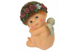 Фигура Ангел Прелесть 5 сидящий боком - интернет-магазин Крассула