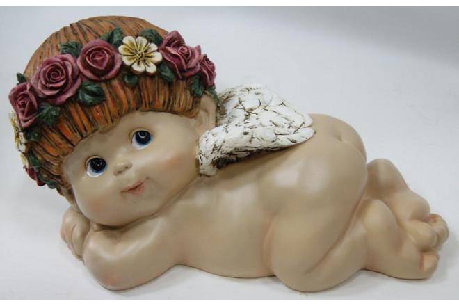 Фигура Ангел Прелесть 7 лежащий на животе - интернет-магазин Крассула