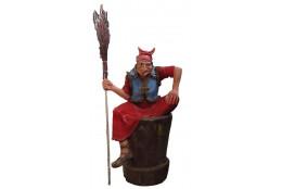 Фигура Баба - Яга большая