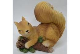Фигура Белка игривая с шишками - интернет-магазин Крассула